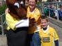 Out and About with the 'FUN to Fame' Mascot - Antrim v Cavan