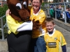 Out and About with the &#039;FUN to Fame&#039; Mascot - Antrim v Cavan
