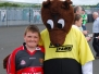 Out and About with the 'FUN to Fame' Mascot - Tyrone v Down