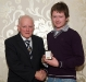 enda-mcbrien-receives-his-award-from-ulster-referees-committee-chairman-joe-jordan
