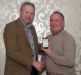 gerard-devlin-receives-his-award-from-ulster-gaa-vice-chairman-martin-mcaviney