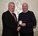 jim-orourke-receives-his-award-from-ulster-gaa-president-aogan-o-fearghail