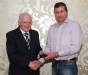 jimmy-galligan-receives-his-award-from-ulster-referees-committee-chairman-joe-jordan
