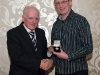 liam-mcauley-receives-his-award-from-ulster-referees-committee-chairman-joe-jordan