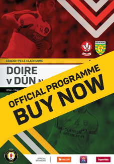 Ulster Senior Football Championship Semi Final - Derry v Donegal