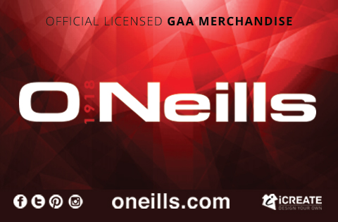 O'Neills Official Licensed GAA Merchandise