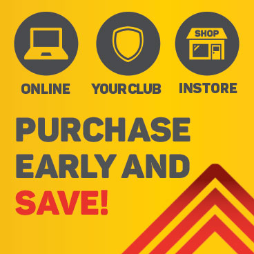 Purchase tickets early and save up to 20%!