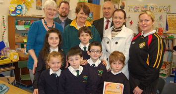 Education Minister visits Rathlin PS