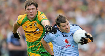 Donegal edged out by Dublin