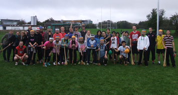 Foreign Students Play hurling