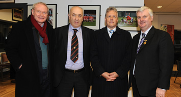 First Minister attends McKenna Cup Final
