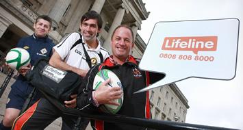 Sports Stars Support Lifeline