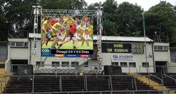 Big Screen set for Ulster Finals