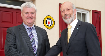 Justice Minister visits Ceannarás Uladh