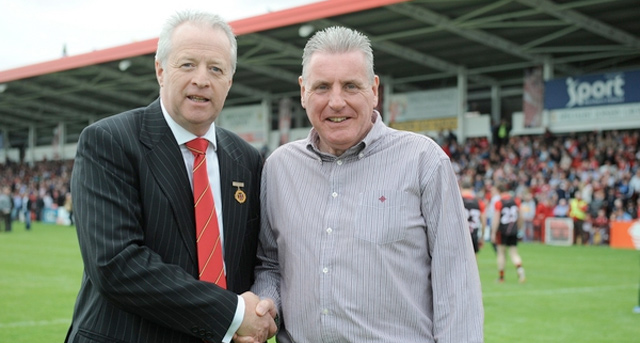 Shadow Secretary of State visits Derry vs Down fixture