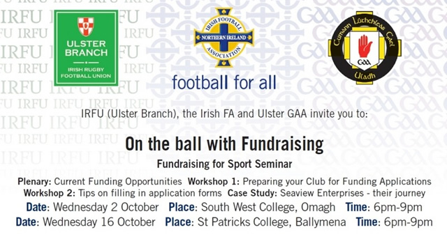 On the ball with Fundraising