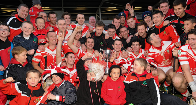 Antrim take a clean sweep in Ulster Club Finals