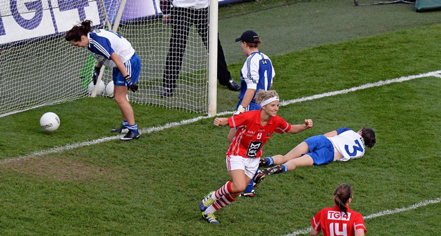 Cork ladies break Monaghan hearts again