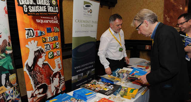 Businesses exhibit their wares at Club Conference