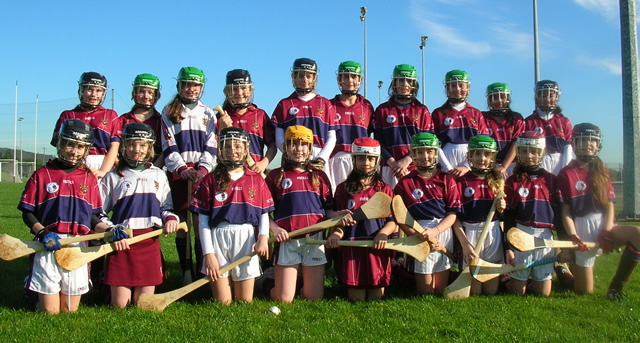 Victoria College Camogs get first taste of competition