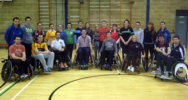 Disability Sport NI Workshop in St Mary's UCB