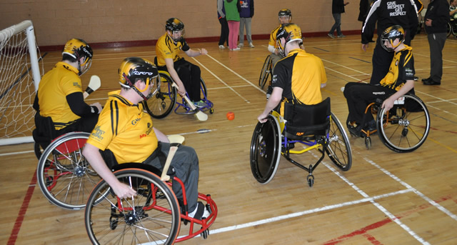 Wheelchair Hurling Provincial Tournment