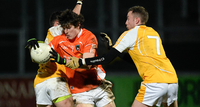 Armagh edge out Saffrons in U21 replay