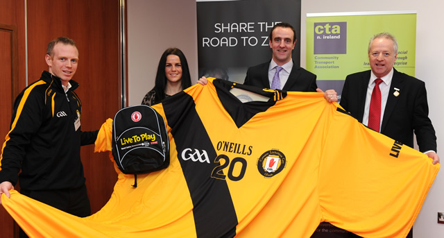 DOE Minister helps Ulster GAA launch their Live To Play Campaign