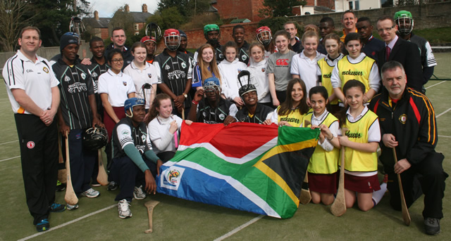 South African Gaels Tour of Belfast
