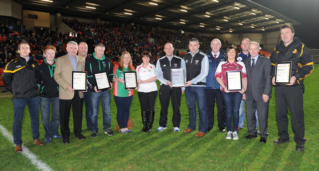 Clubs awarded Club Maith Accreditation