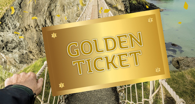 Golden Ticket Giveaways!
