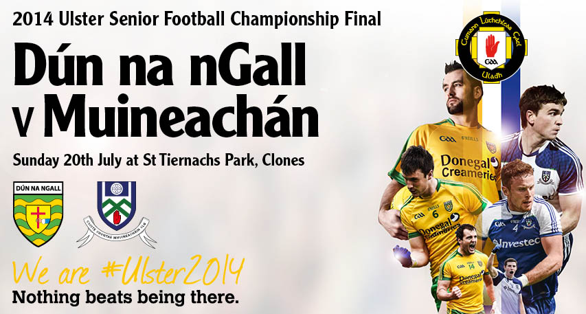 Ulster Football Finals Event & Ticketing Info