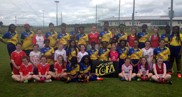 London girls take part in Gaelic Football Tour to Ireland