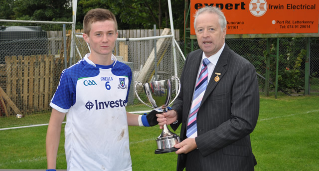 Monaghan win first Buncrana Cup