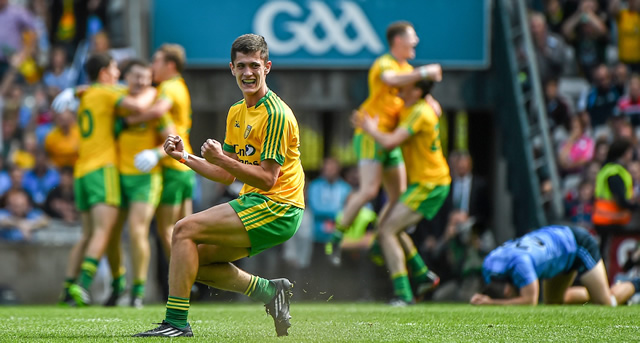 Donegal through to first minor final