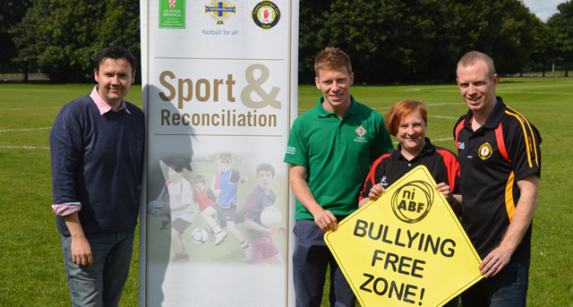 Three sports commit to 'Tackle Bullying Now'