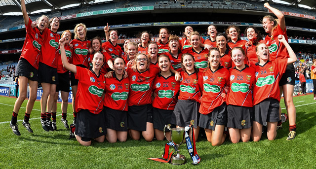 Junior Camogie Glory for Mourne Girls