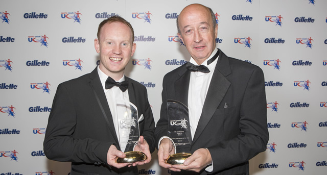 Ulster GAA and Irish FA collect UK Coaching Award