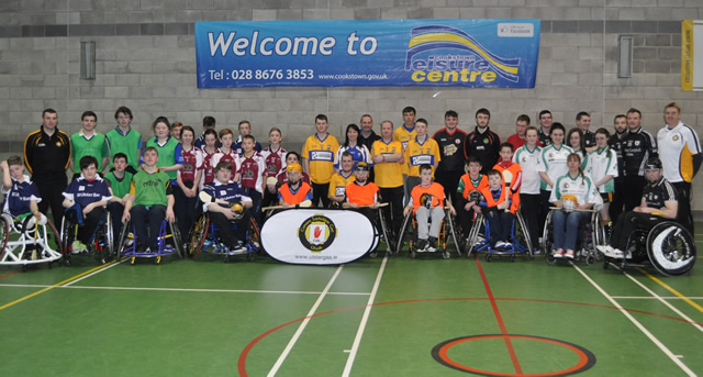 Families take part in novel Wheelchair Hurling Blitz