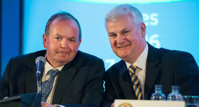 Aogán Ó Fearghail takes over as GAA President