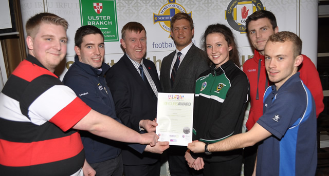 Young Sports Volunteers celebrated