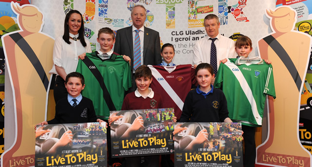 Ulster GAA host first ever Live to Play Road Safety 'Oscars'