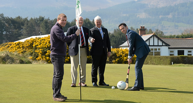 GAA meets Golf for charity at the Irish Open