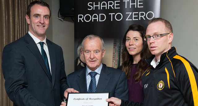 Ulster GAA recognised for its Road Safety Work