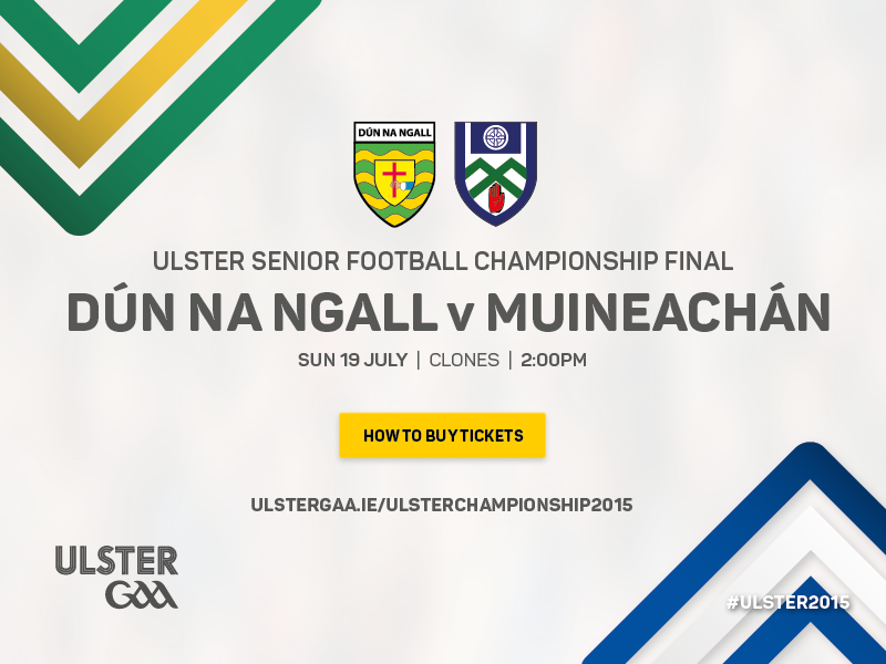 Donegal v Monaghan Ulster Senior Football Championship 2015 Final