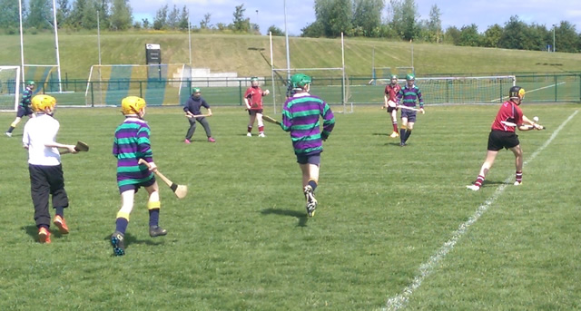 Integrated schools hurling blitz