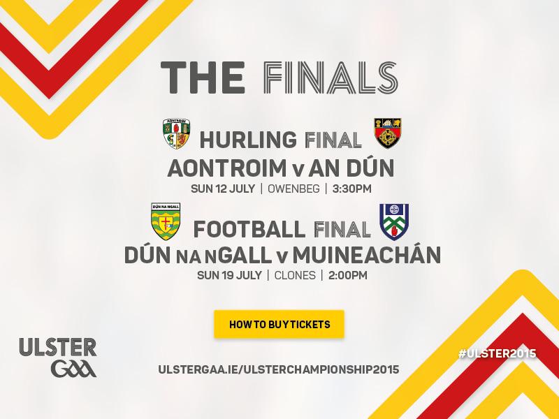 Ulster Senior Championship Finals 2015