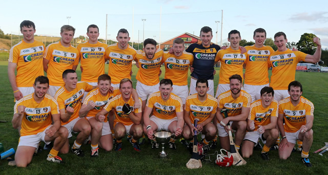 Antrim battle past Derry in U21 Final