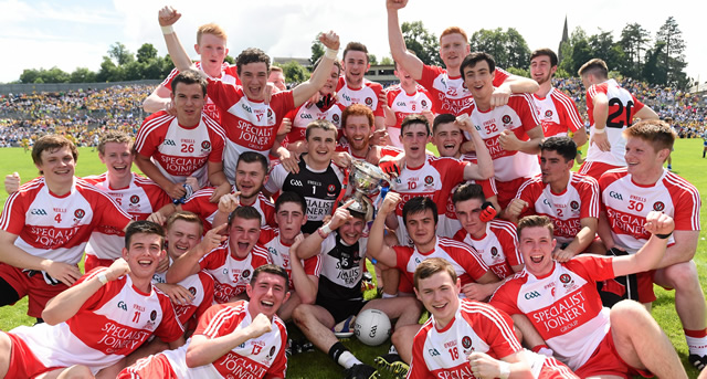 Derry lift 13th Ulster Minor title