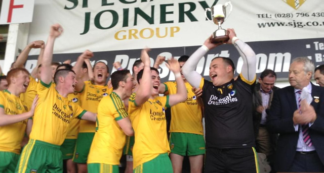 Donegal lift inaugral Andrew O'Neill Cup